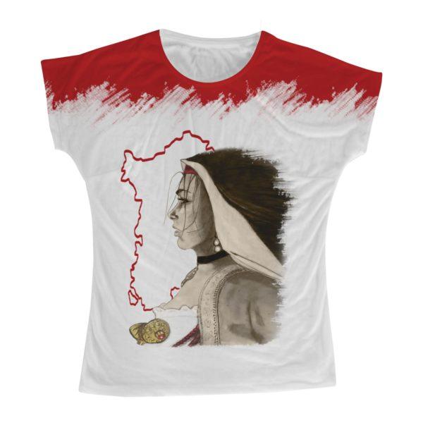 t-shirt Sardò Fuoco