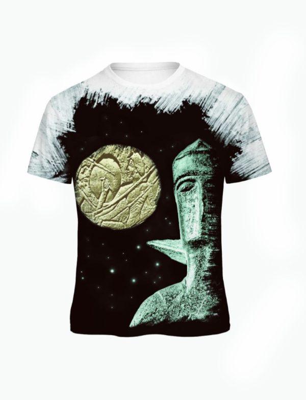 t-shirt Battaglia Shardana All Over