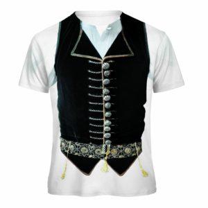 t-shirt Gilet Sardo